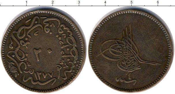 Картинка Монеты Турция 20 пар Медь 1277