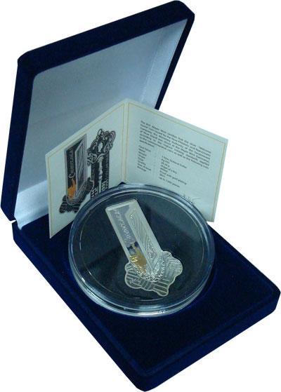 Изображение Подарочные монеты Ниуэ 1 доллар 2011 Серебро Proof Подарочная монета С