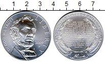 Изображение Монеты США 1 доллар 2009 Серебро UNC 200 лет со дня рожде