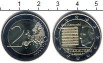 Изображение Мелочь Люксембург 2 евро 2013 Биметалл UNC