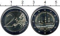 Изображение Мелочь Латвия 2 евро 2014 Биметалл UNC