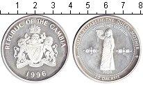 Изображение Монеты Гамбия 20 даласи 1996 Серебро