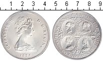 Изображение Монеты Теркc и Кайкос 20 крон 1976 Серебро Proof