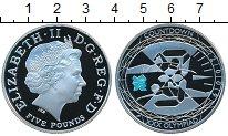 Изображение Монеты Великобритания 5 фунтов 2009 Серебро Proof-