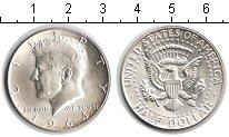 Изображение Мелочь США 1/2 доллара 1964 Серебро UNC-