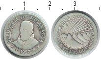Изображение Монеты Никарагуа 10 сентаво 1927 Серебро XF