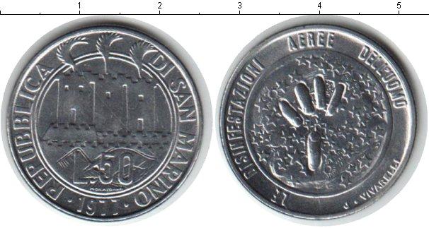 Картинка Монеты Сан-Марино 50 лир Медно-никель 1977