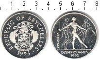 Изображение Монеты Сейшелы 25 рупий 1993 Серебро Proof- Олимпийские игры 199