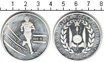 Изображение Монеты Джибути 100 франков 1994 Серебро Proof-
