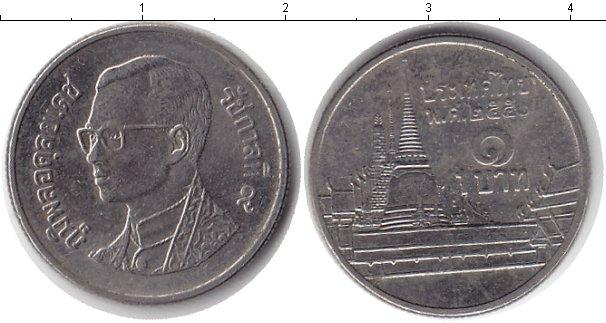 Картинка Дешевые монеты Таиланд 1 бат  2007