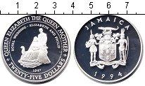 Изображение Монеты Ямайка 25 долларов 1994 Серебро Proof-