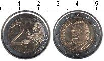 Изображение Мелочь Испания 2 евро 2014 Биметалл UNC- .