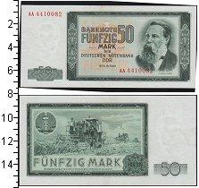 Изображение Банкноты ГДР 50 марок 1964  XF