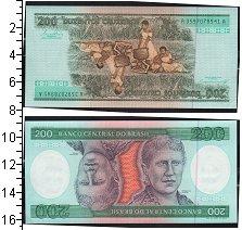 Изображение Боны Бразилия 200 крузейро 0  UNC- Принцесса Бразилии И