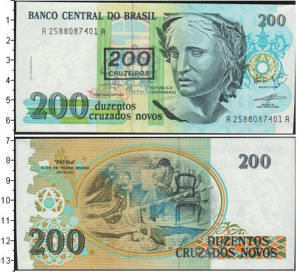 Картинка Боны Бразилия 200 крузейро  0