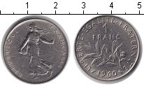 Изображение Барахолка Франция 1 франк 1960