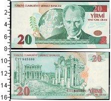 Изображение Банкноты Турция 20 лир 0  UNC-