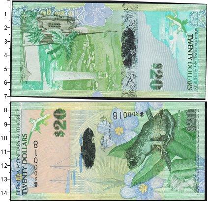 Картинка Боны Бермудские острова 20 долларов  0