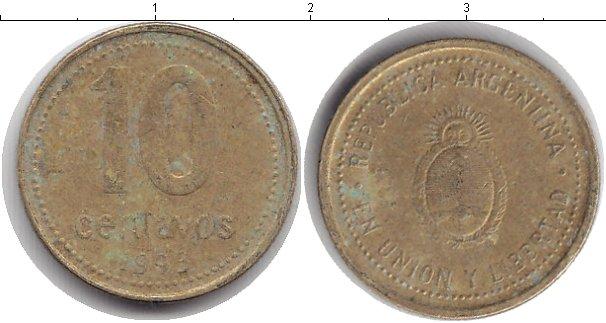 Картинка Барахолка Аргентина 10 сентаво  1993