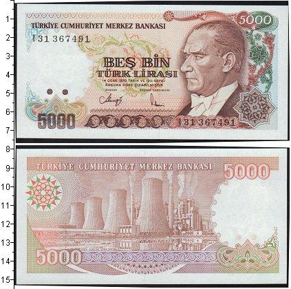 Картинка Боны Турция 5.000 лир  0