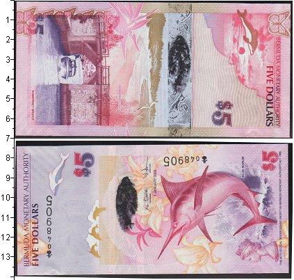 Картинка Банкноты Бермудские острова 5 долларов  2009