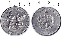 Изображение Монеты Куба 1 песо 1981 Медно-никель XF XIV Центральноамерик