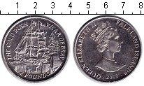 Изображение Мелочь Фолклендские острова 2 фунта 2000  UNC- Елизавета II
