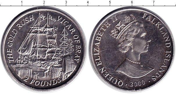 Картинка Мелочь Фолклендские острова 2 фунта  2000