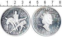 Изображение Монеты Канада 15 долларов 1992 Серебро UNC- 100-летие Олимпийски