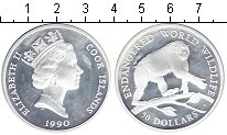 Изображение Монеты Острова Кука 50 долларов 1990 Серебро UNC-