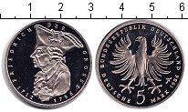 Изображение Мелочь ФРГ 5 марок 1986 Медно-никель Proof 200 лет со дня смерт