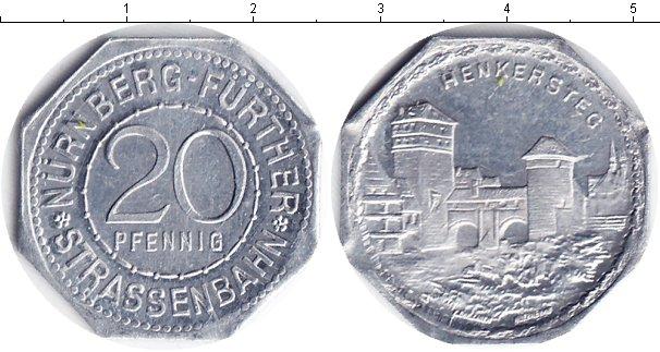 Картинка Монеты Нотгельды 20 пфеннигов Алюминий 0