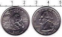 Изображение Мелочь США 1/4 доллара 2008 Медно-никель UNC