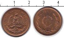 Изображение Монеты Мексика 1 сентаво 1942  XF