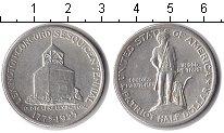 Изображение Монеты США 1/2 доллара 1925 Серебро XF 150-летие сражения п