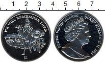 Изображение Мелочь Фолклендские острова 1 крона 2014 Медно-никель UNC Мы будем помнить их!