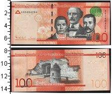 Изображение Банкноты Доминиканская республика 100 песо 0  UNC-