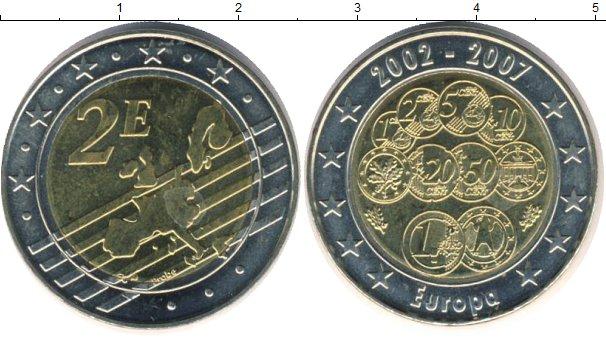 Картинка Мелочь Европа 2 евро Биметалл 2007