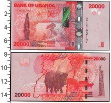 Изображение Боны Уганда 20.000 шиллингов 0  UNC- буйвол