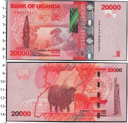 Картинка Боны Уганда 20.000 шиллингов  0
