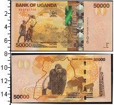 Изображение Банкноты Уганда 50000 0  UNC-