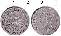 Изображение Монеты Восточная Африка 50 центов 1948 Медно-никель  Георг VI