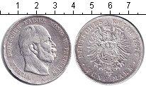 Изображение Монеты Пруссия 5 марок 1876 Серебро VF А