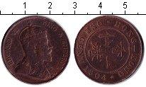 Изображение Монеты Гонконг 1 цент 1904 Медь XF Эдуард VII