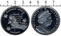 Изображение Мелочь Великобритания Остров Мэн 1 крона 2014 Медно-никель UNC-