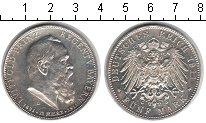 Изображение Монеты Бавария 5 марок 1911 Серебро UNC-