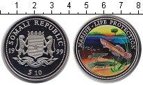Изображение Монеты Сомали 10 долларов 1999  Proof-