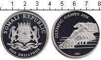 Изображение Монеты Сомали 4000 шиллингов 2006 Серебро Proof-