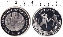 Изображение Монеты Франция 1 1/2 евро 2006 Серебро Proof- Олимпийские игры 200