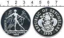 Изображение Монеты Сейшелы 25 рупий 1992 Серебро Proof-